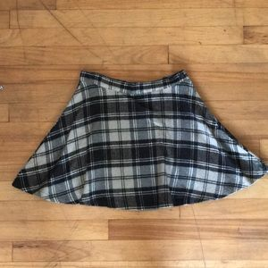 American Apparel Wool Schoolgirl Mini Skirt